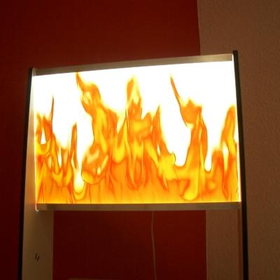 Beleuchtetes Display