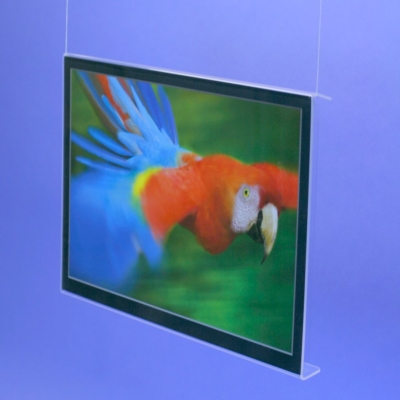 Wechselrahmen Querformat aus Acrylglas