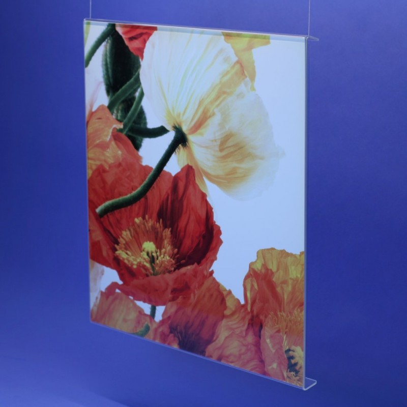 Wechselrahmen quadratisch aus Acrylglas
