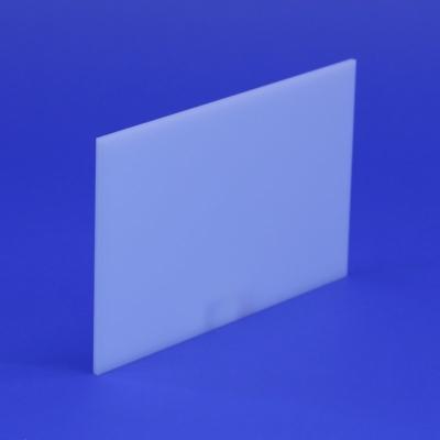 Zuschnitt opal weiss 3 mm