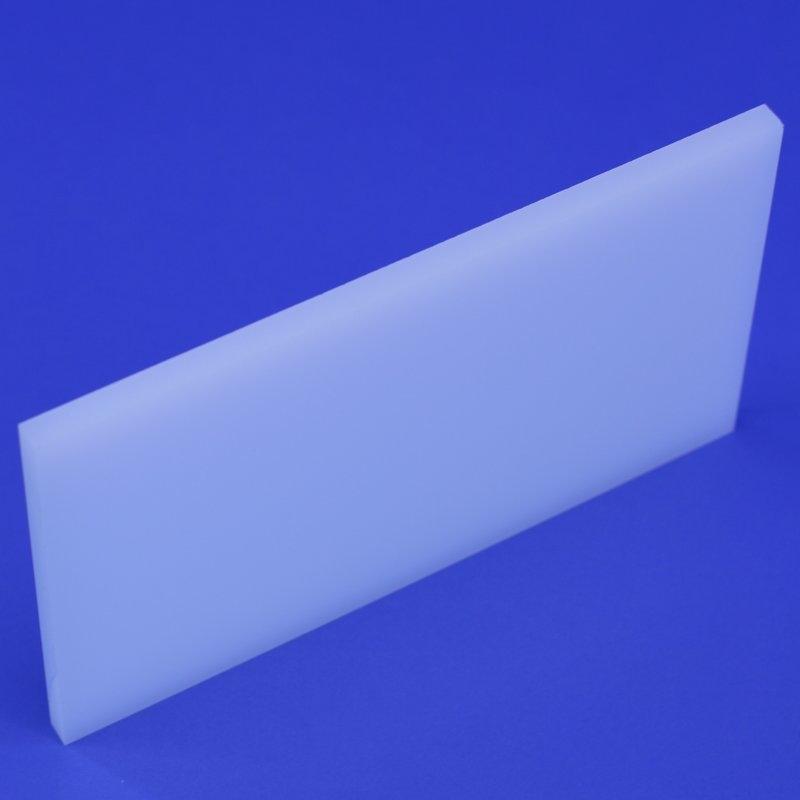 Zuschnitt opal weiss 8 mm