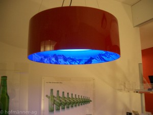 Leuchten aus Acrylglas